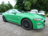 2019 Ford Mustang GT Fastback Front 3/4 View