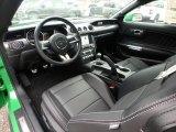 2019 Ford Mustang GT Fastback Ebony Interior