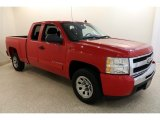 2011 Victory Red Chevrolet Silverado 1500 LS Extended Cab #133621662