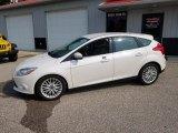 2012 White Platinum Tricoat Metallic Ford Focus SEL 5-Door #133647134