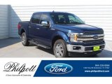 2018 Blue Jeans Ford F150 Lariat SuperCrew 4x4 #133658604