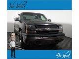2004 Black Chevrolet Silverado 1500 LS Extended Cab 4x4 #133675090