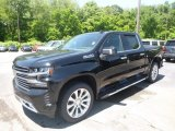 2019 Black Chevrolet Silverado 1500 High Country Crew Cab 4WD #133675040
