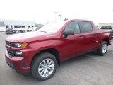 2019 Cajun Red Tintcoat Chevrolet Silverado 1500 Custom Crew Cab 4WD #133693984