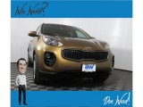 2017 Burnished Copper Kia Sportage LX AWD #133694047