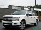 2019 White Platinum Ford F150 Platinum SuperCrew 4x4 #133693849