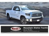 2019 Super White Toyota Tundra Limited Double Cab 4x4 #133715191