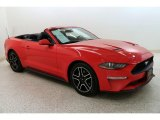 2019 Race Red Ford Mustang EcoBoost Premium Convertible #133737199