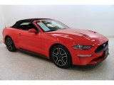 2019 Ford Mustang EcoBoost Premium Convertible Data, Info and Specs