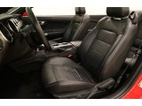 2019 Ford Mustang EcoBoost Premium Convertible Ebony Interior