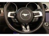 2019 Ford Mustang EcoBoost Premium Convertible Steering Wheel