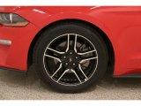 2019 Ford Mustang EcoBoost Premium Convertible Wheel