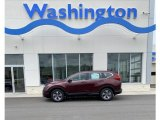 2019 Basque Red Pearl II Honda CR-V LX AWD #133737060