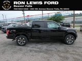 2019 Agate Black Ford F150 STX SuperCrew 4x4 #133737057