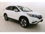 White Diamond Pearl Honda CR-V in 2015