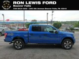 2019 Velocity Blue Ford F150 STX SuperCrew 4x4 #133737056