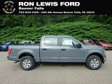 2019 Abyss Gray Ford F150 XL SuperCrew 4x4 #133737055