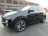 2020 Kia Sportage Black Cherry