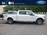 2019 White Platinum Ford F150 Lariat SuperCrew 4x4 #133766203