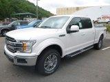 2019 Ford F150 White Platinum