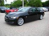 2009 Black Sapphire Metallic BMW 3 Series 335xi Coupe #13367673
