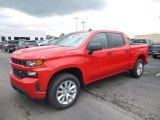 2019 Red Hot Chevrolet Silverado 1500 Custom Crew Cab 4WD #133766166