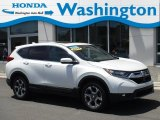 2017 White Diamond Pearl Honda CR-V EX AWD #133784399