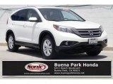 2012 White Diamond Pearl Honda CR-V EX-L #133784467
