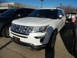 2019 White Platinum Ford Explorer Limited 4WD #133784577