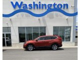 2019 Basque Red Pearl II Honda CR-V EX-L #133809040
