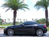 2005 Mercedes-Benz SLK Obsidian Black Metallic