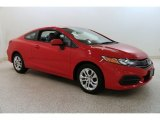 2015 Rallye Red Honda Civic LX Coupe #133828353
