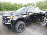 2019 Black Chevrolet Silverado 1500 Custom Z71 Trail Boss Crew Cab 4WD #133828232