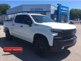2019 Summit White Chevrolet Silverado 1500 LT Z71 Trail Boss Crew Cab 4WD #133843499