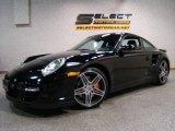 2007 Black Porsche 911 Turbo Coupe #13362459