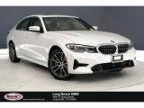 2019 Mineral White Metallic BMW 3 Series 330i Sedan #133843446