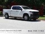 2019 Summit White Chevrolet Silverado 1500 WT Crew Cab #133874302