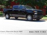 2019 Black Chevrolet Silverado 1500 WT Crew Cab #133874297