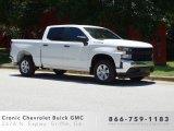 2019 Summit White Chevrolet Silverado 1500 WT Crew Cab #133874296