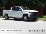 2019 Summit White Chevrolet Silverado 1500 WT Crew Cab 4WD #133874303
