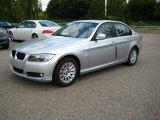 2009 Titanium Silver Metallic BMW 3 Series 328xi Sedan #13367678