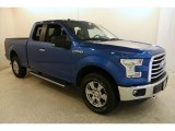 2015 Blue Flame Metallic Ford F150 XL SuperCab 4x4 #133896684