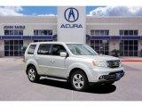 2014 Alabaster Silver Metallic Honda Pilot EX #133896512