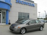 2006 Galaxy Gray Metallic Honda Civic EX Sedan #13354521