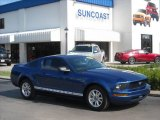 2007 Vista Blue Metallic Ford Mustang V6 Deluxe Coupe #13368385