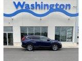 2019 Obsidian Blue Pearl Honda CR-V EX AWD #133918329