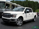 2019 White Platinum Ford F150 Lariat SuperCrew 4x4 #133918210