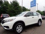 2015 White Diamond Pearl Honda CR-V LX AWD #133937868