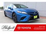 2019 Blue Streak Metallic Toyota Camry XSE #133957375