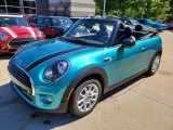 2019 Mini Convertible Cooper Front 3/4 View
